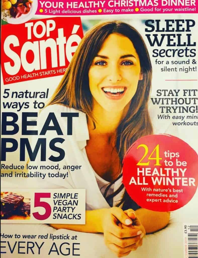 Top Sante Magazine cover - beat PMS