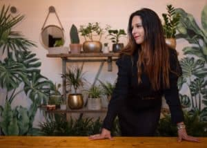 Functional Medicine London clinic with Carolina Brooks - plants in background